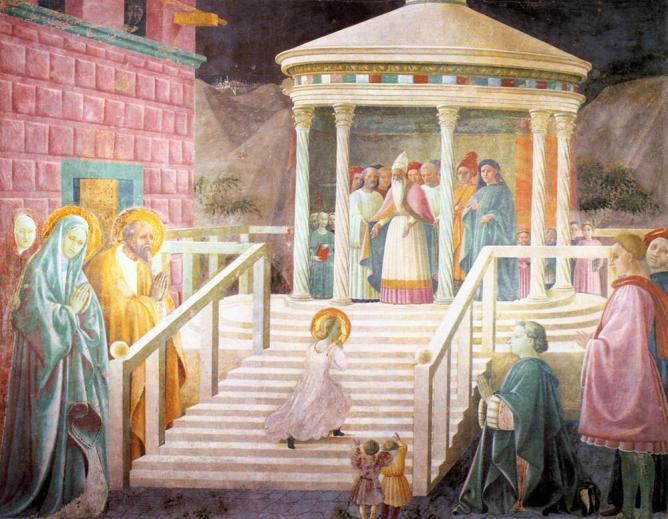 Uccello paolo marys presentation in the temple 1