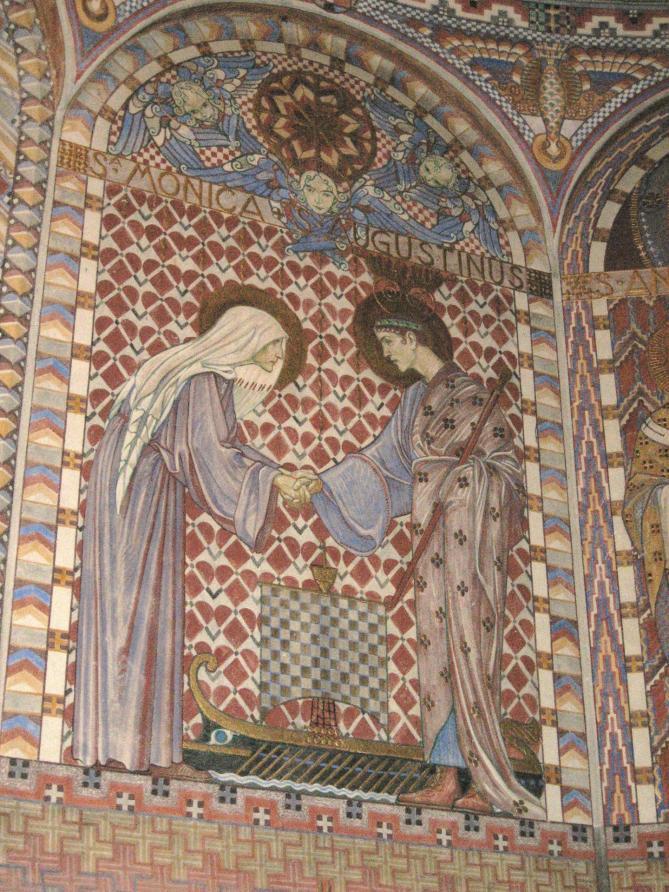 Uppenbarelsekyrkan kor monica augustinus