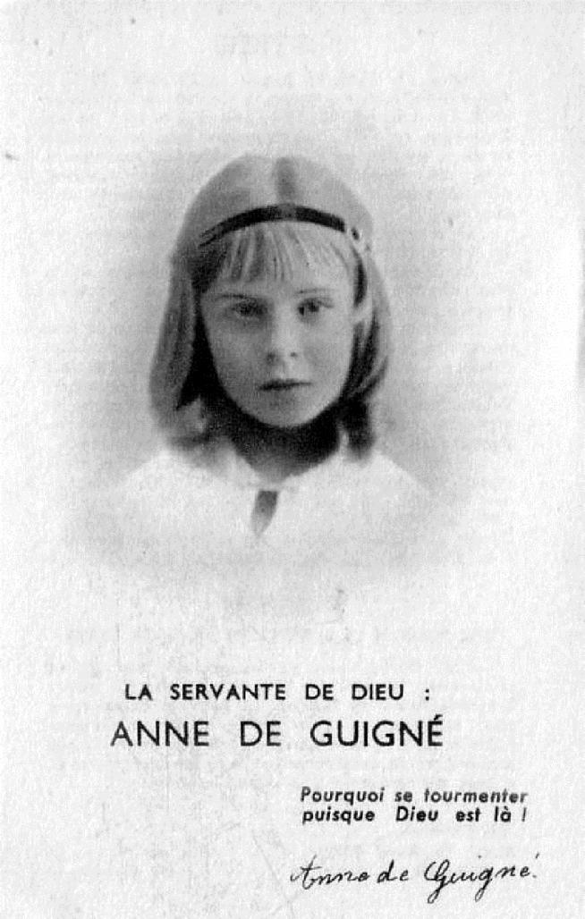 Venerable anne de guigne