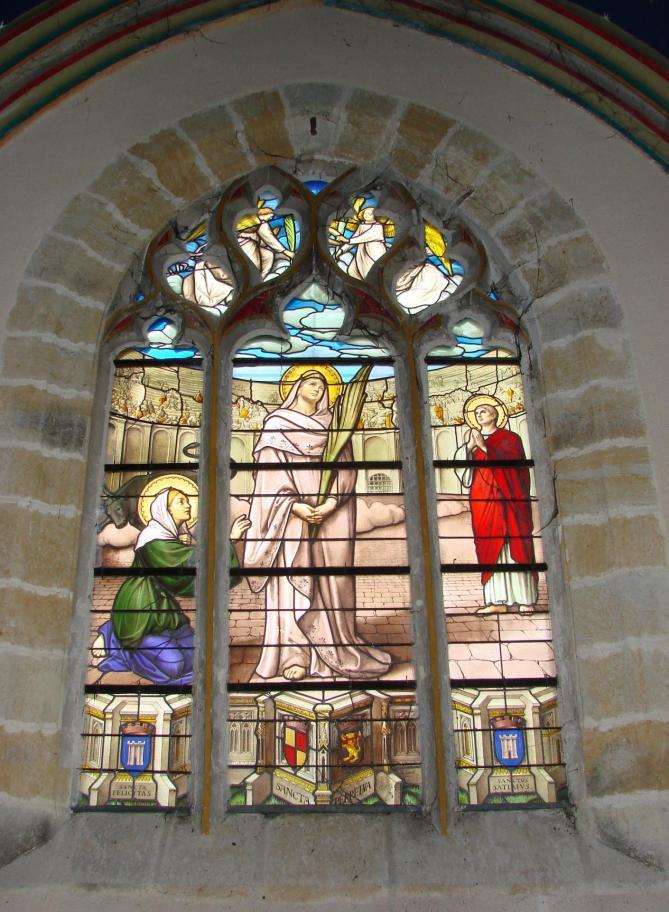 Verriere de sainte perpetue eglise notre dame de vierson xixe siecle 11