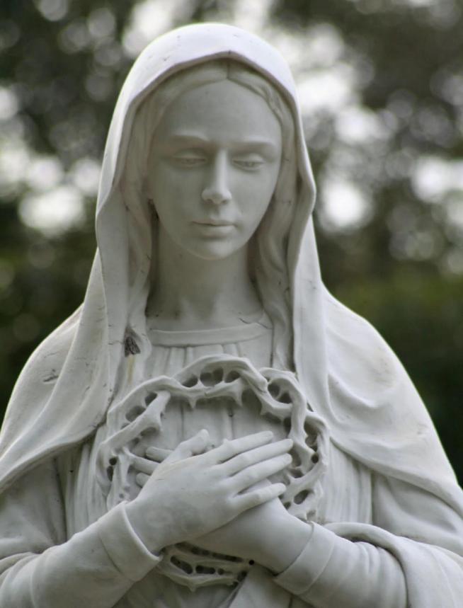 Vierge marie priere couronne d epines de jesus 11