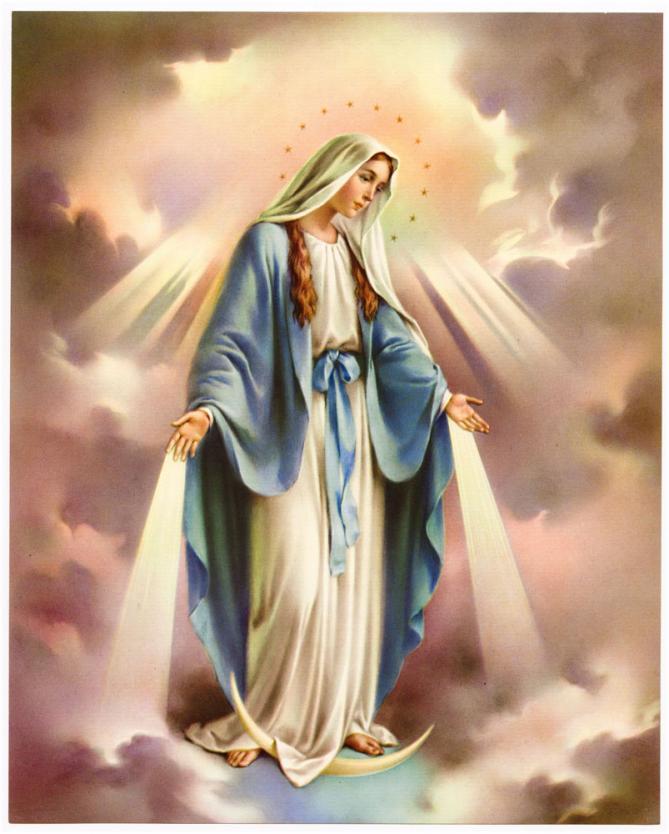 ++++Fête de L'Assomption de la Très Sainte Vierge Marie++++ Vierge-miraculeuse