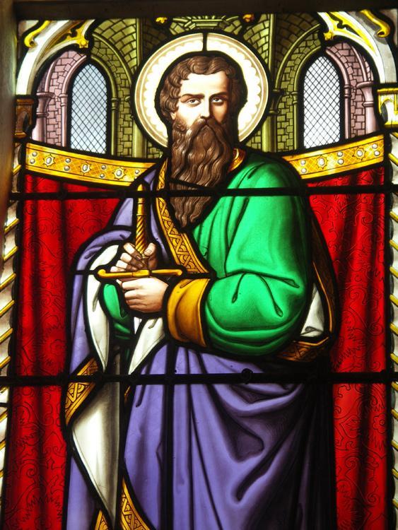 Vitrail de saint jacques le majeur apotre 1