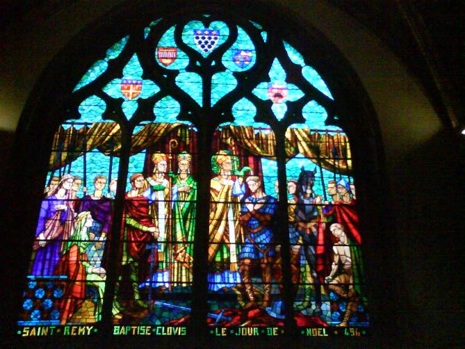 Vitrail eglise saint bonaventure