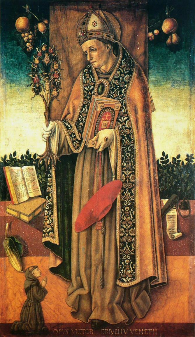 Vittore crivelli saint bonaventure