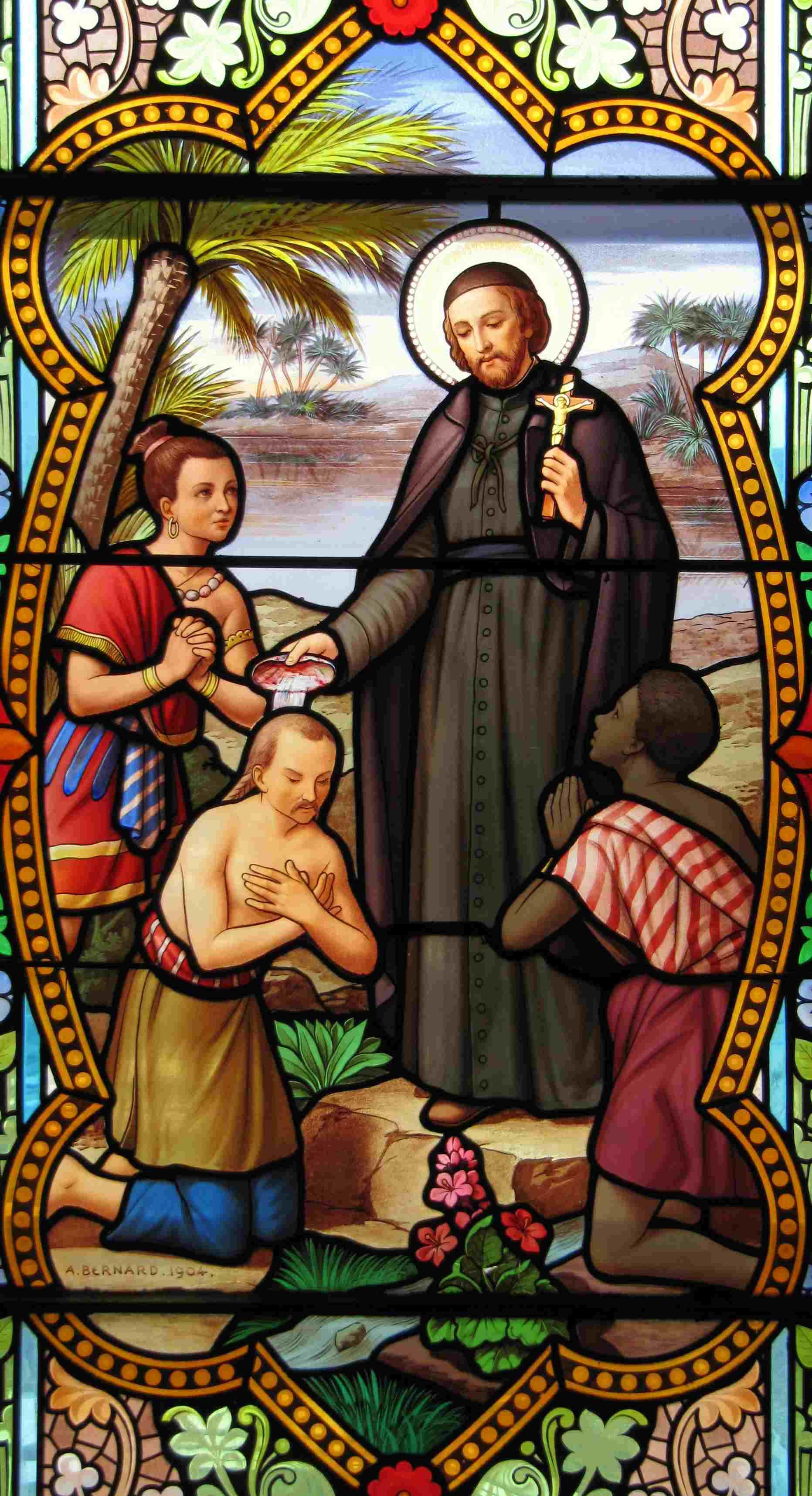 Saint François-Xavier, Jésuite, Co-Patron des Missions, Apôtre des Indes et  du Japon (1506-1552).Fête le 03 Décembre.