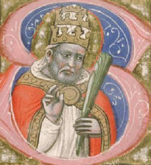 Saint Calixte, Pape (16 ème) de 217 à 222 et Martyr († 222). Fête le 14  Octobre.