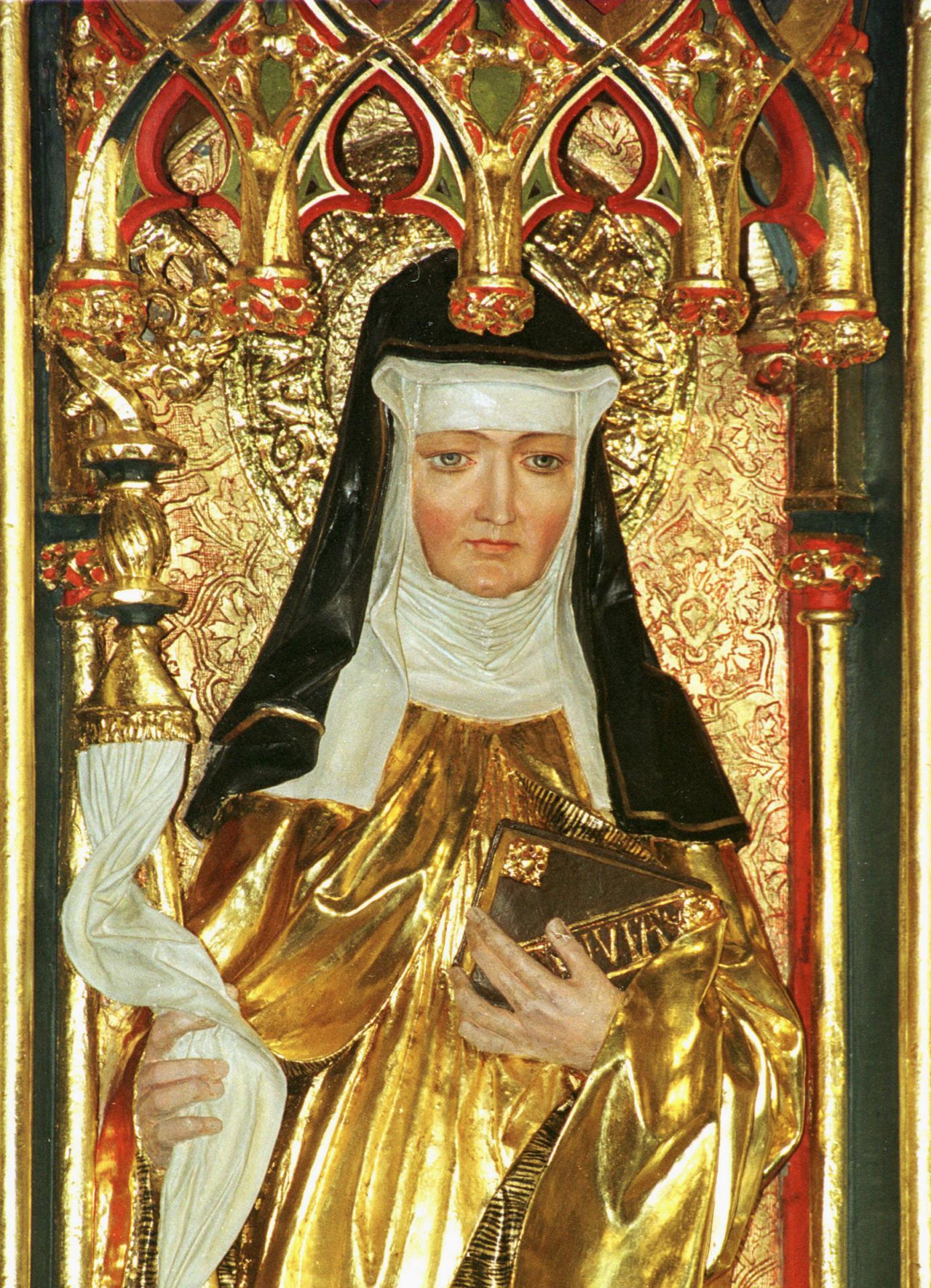 Sainte Hildegarde de Bingen, Abbesse Bénédictine (1098-1179). Fête le 17  Septembre.