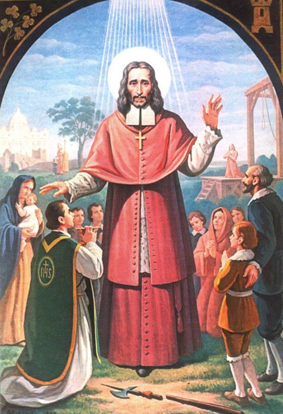 Saint Olivier Plunket, Archevêque et Martyr. Fête le 01 Juillet.