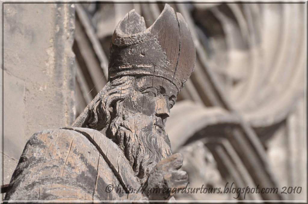 Saint Gatien, Premier Évêque de Tours (IIIe siècle). Fête le 18 Décembre.
