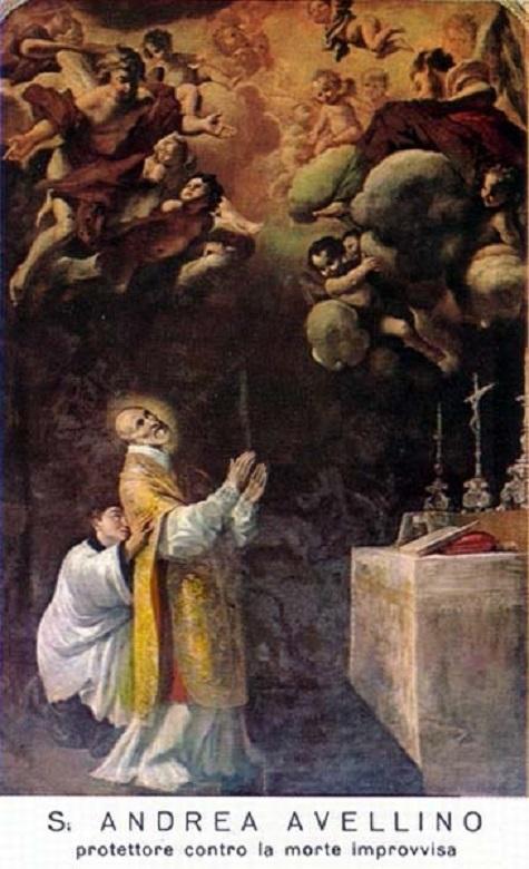 Saint André Avellin, Prêtre Théatin (1521-1608). Fête le 10 Novembre.