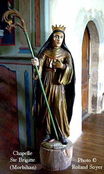 Sainte Brigitte de Suède, Veuve, Fondatrice d'Ordre, Co-Patronne ...